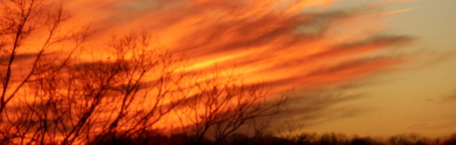 Firey Sunset Slider
